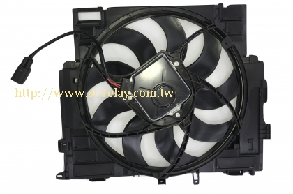 BMW cooling fan assembly/ Brushless Motor 17418642161 17417618786 17417618787 17418617102 17418617103 17418619142 174186