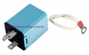LED Flasher  44890 12V 4P  MAX.20 AMPS  MIN.1 AMP