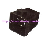 RELAY WITH SKIRTED COVER AND METAL BRACKET