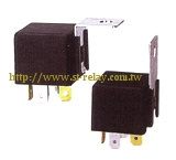 RELAY WITH METAL BRACKET