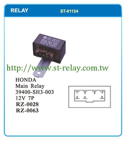 HONDA Main Relay 39400SD4003 39400SH3003 39400SK7003